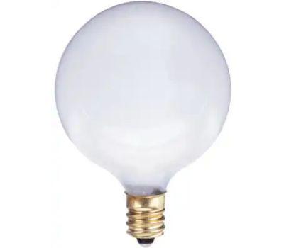 Globe Electric 70828 WestPointe White Van Globe Bulb