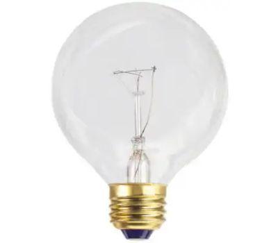 Globe Electric 70877 WestPointe 40 Watt Clear G25 Bulb