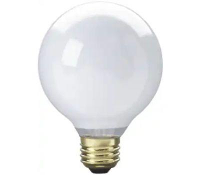 Globe Electric 70879 WestPointe 25 Watt White G25 Bulb