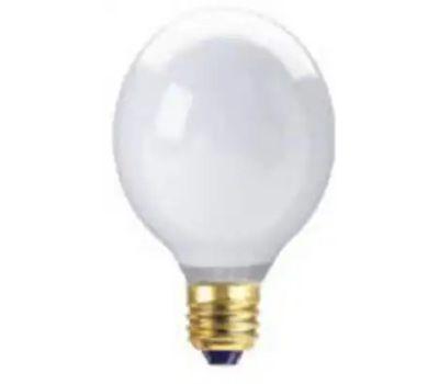 Globe Electric 70920 WestPointe 40 Watt G25 White Bulb
