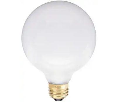 Globe Electric 70975 WestPointe 40 Watt G30 3-3/4 Inch White Globe Bulb