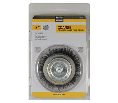 Disston 842663 Master Mechanic 3 Inch Coarse Utility Cup Brush