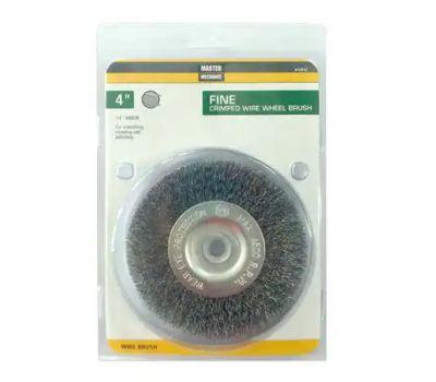 Disston 842812 Master Mechanic 4 Inch Crimp Wire Wheel