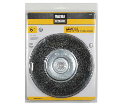 Disston 307025 Master Mechanic 6 Inch Coarse Crimp Wheel