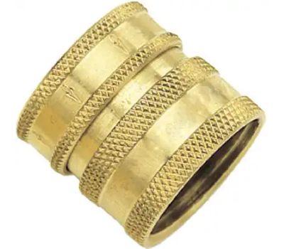 Fiskars 09QCFGT Green Thumb Quick Connector Female Brass