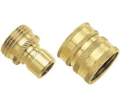 Fiskars 09QCGT Green Thumb Quick Connector Brass Set
