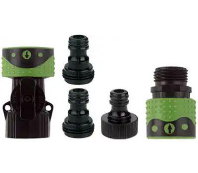 Fiskars 2939QCGT Green Thumb Quick Connector Complete Connector Set