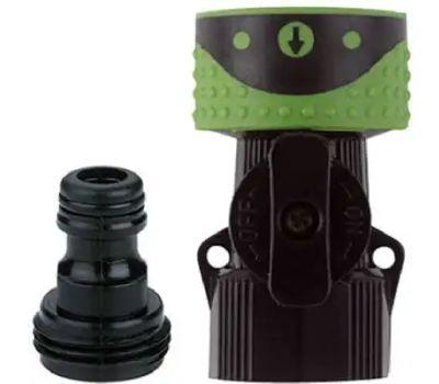 Fiskars 29QCGT Green Thumb Quick Connector Hose End Connector Set