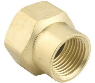 Fiskars 5FP7FHGT Green Thumb Garden Hose Connector Double Female 1/2 Inch By 3/4 Inch