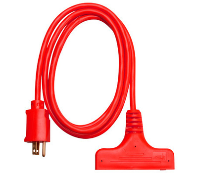 PHW Genting 04004ME Master Electrician 6 Foot 14/3 3 Outlet Extension Cord