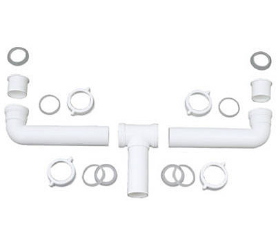 Brass Craft 453-209 Master Plumber 1 1/2 Inch Center Outlet Drain