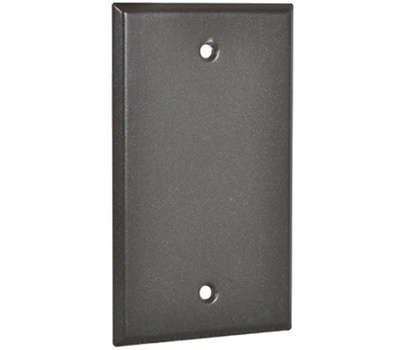 Hubbell 1BC-BR Master Electrician Bronze Weatherproof 1 Gang Blank Cover