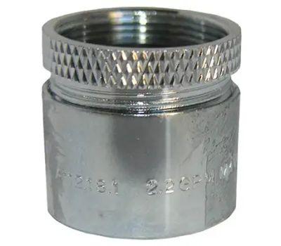 Larsen Supply 09-1047 13/16x27 Chr Aerator