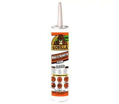 Gorilla Glue 8212302 Construction Adhesive, White, 9 Ounce Cartridge