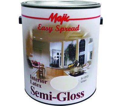 Yenkin Majestic 8-1313 Majic Paint Latex Semi Gloss Linen Gallon