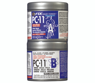 Protective Coating PC-11 1/2 LB. Epoxy Paste Multipurpose Off White 1/2 Pound Pc 11