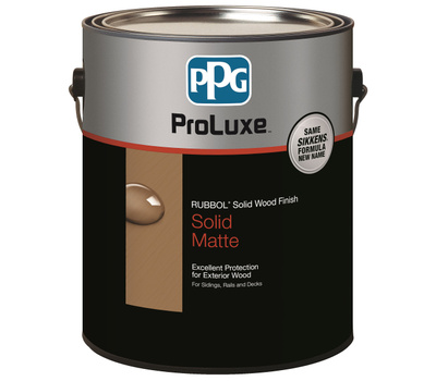 Deft PPG SIK710-110/01 Stain Solid Light Base 1gallon