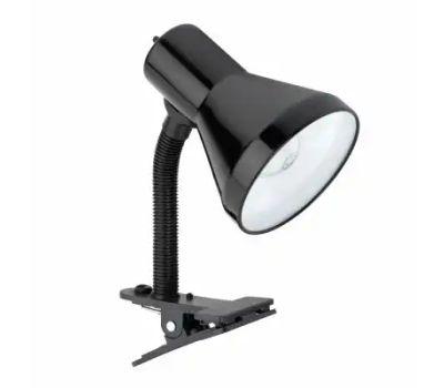 Globe Electric 12717 10.25 Inch Blk Clip Lamp