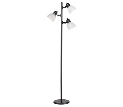Globe Electric 12719 3lt Blk Tree Flr Lamp