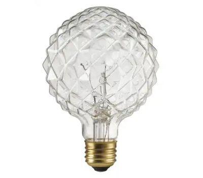 Globe Electric 84637 40w Crystal Design Bulb