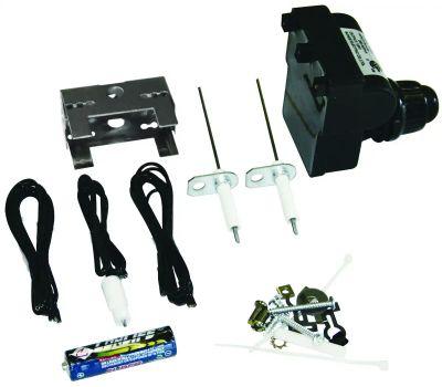 Onward 20620 Grill Pro Electronic Ignitor Kit, Pushbutton, Universal Fit, Plastic, Black