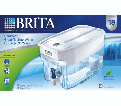 Brita 36178 Ultramax Filtered Water Dispenser 1.13 Gallons