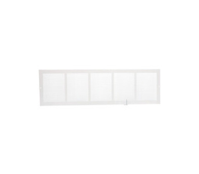 Imperial Manufacturing RG0550 Grille Sidewall White 30inx8in