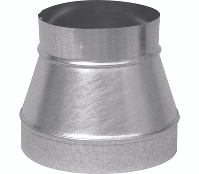 Imperial Manufacturing GV1199 6 By 4 26 Gauge Galvanized No Crimp Reducer