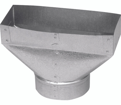 Imperial Manufacturing GV0692-A Universal Boot, Steel, Galvanized