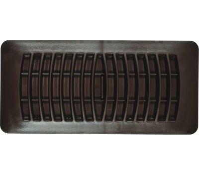 Imperial Manufacturing RG1293 Floor Register, Polystyrene, Brown