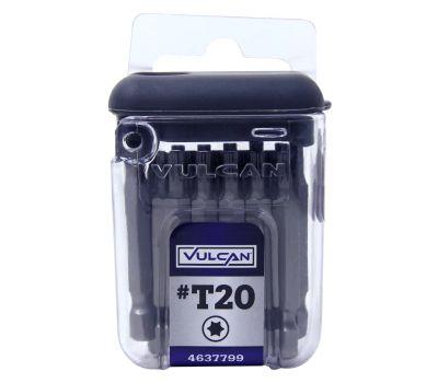 Vulcan 511371OR Star Bit 2 Inch 18 Piece T20 18 Pack