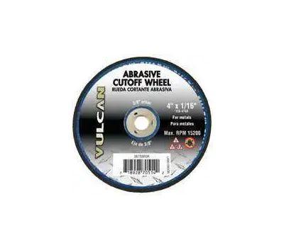 Vulcan 981590OR Wheel Cut Off Abrasive 4 By 1/16 Inch