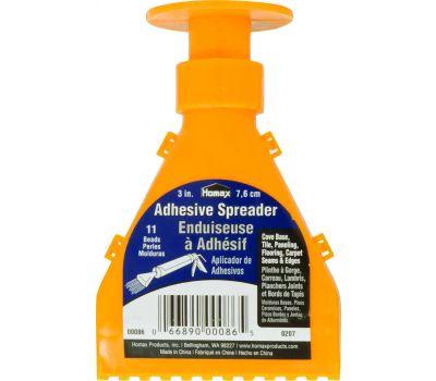 Homax 00086 11 Bead Heavy Duty Adhesive Spreader Tool