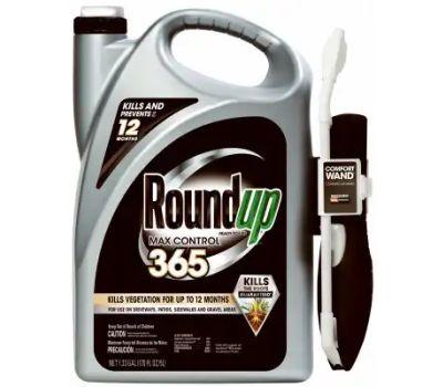Roundup 5000510 Vegetation Killer, Liquid, Clear to Pale Brown, 1.33 Gal Bottle