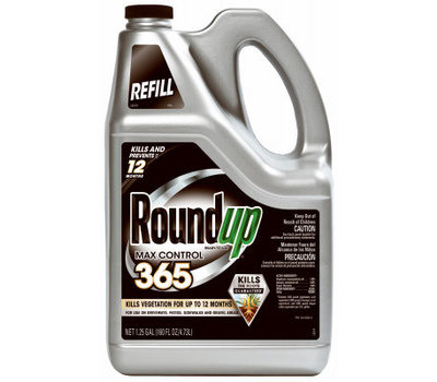 Roundup 5000710 Ready-to-Use Max Control, Liquid, 1.25 Gal Bottle