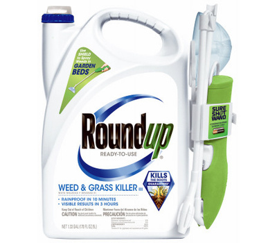 Roundup 5200510 Weed and Grass Killer, Liquid, Spray Application, 1.33 Gal Bottle