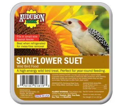 Global Harvest 13067 Food Bird Suet Sunflwr 9 Ounce