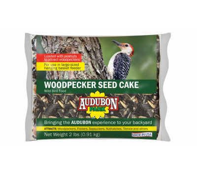 Global Harvest 11931 Food Bird Cake Woodpecker 2 Pound