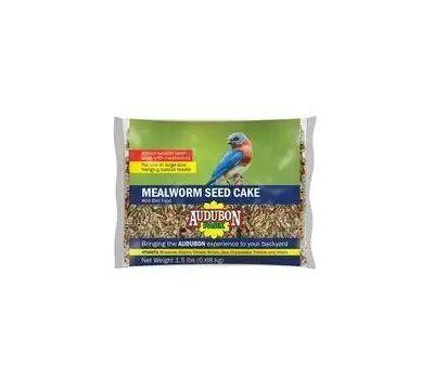 Global Harvest 12486 Food Bird Cke Seed Mlwrm 1.5 Ounce