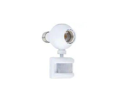 AmerTac OMLC163BC Westek Motion Activated Light Control For CFL, Halogen, Incandescent And LED 150 Watt White