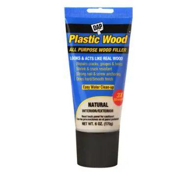 Dap 00581 Colormaxx Wood Filler, Paste, Slight, Natural, 6 Ounce Tube