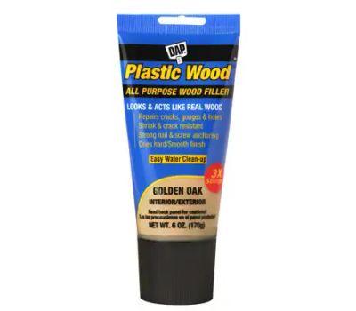 Dap 00582 Colormaxx Wood Filler, Paste, Slight, Golden Oak, 6 Ounce Tube