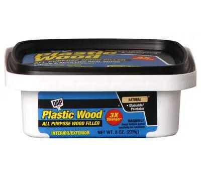 Dap 08135 1/2 Pint Latex Plastic Wood