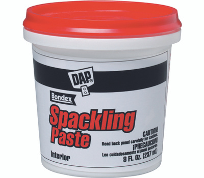 Dap 10200 Spackling Paste Interior 1 2 Pint