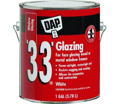 Dap 12019 White Glazing Compound Gallon