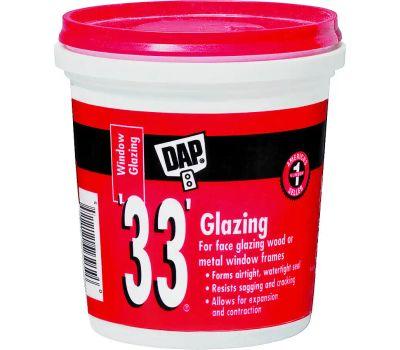 Dap 12121 White Glazing Compound Pint