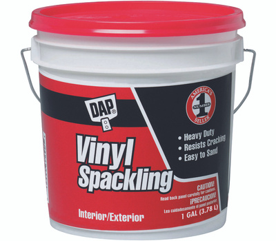 Dap 12133 Spackling Compound Vinyl Interior And Exterior Gallon