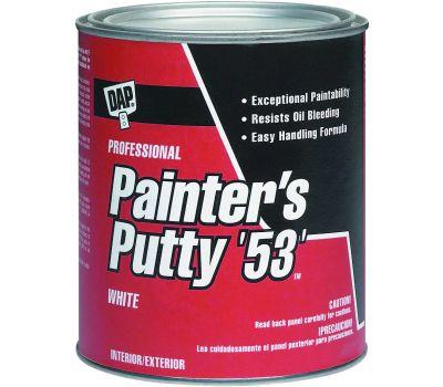 Dap 12240 1/2 Pint Painter Putty White