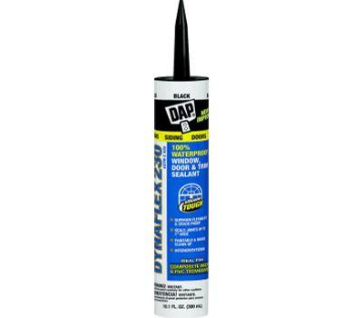 Dap 18280 Premium Sealant, Black, 1 Day Curing, 40 to 100 Deg F, 10.1 Ounce Cartridge