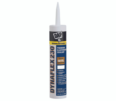 Dap 18286 Waterproof Window Door And Trim Latex Sealant 10.1 Ounce Gray
